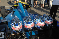 Car of Josef Newgarden, Sarah Fisher Hartman Racing Honda