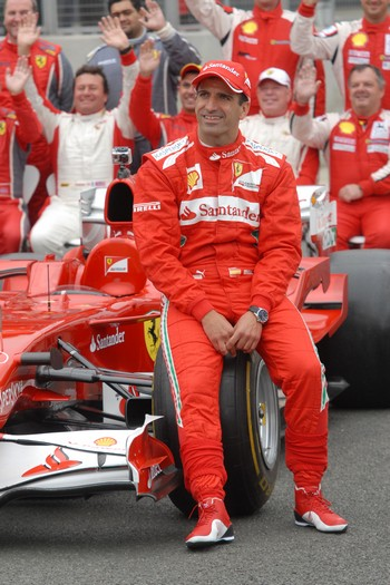 Marc Gene, Ferrari Test Driver