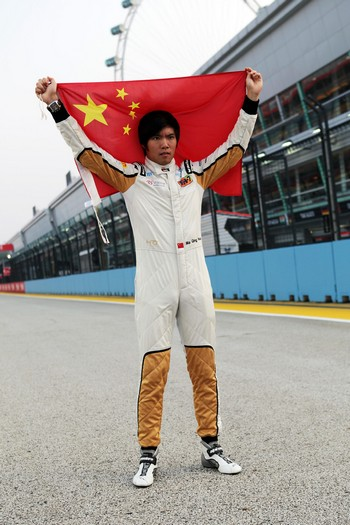 Ma Qing Hua, Hispania Racing F1 Team, Test Driver