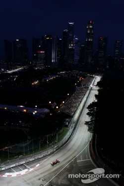 Marina Bay Street Circuit, Singapore.