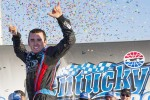 Victory lane: race winner Austin Dillon