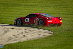 Spin for #13 Ferrari of Ontario 458CS: Marc Muzzo