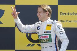 Race winner Augusto Farfus Jr., BMW Team RBM BMW M3 DTM