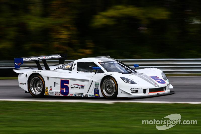 # 5 Action Express Racing Corvette DP: David Donohue, Brian Frisselle