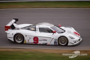 #9 Action Express Racing Corvette DP: Joao Barbosa, Darren Law