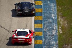 #14 Ferrari of San Diego 458CS: Brent Lawrence, #8 Ferrari of Ft Lauderdale 458TP