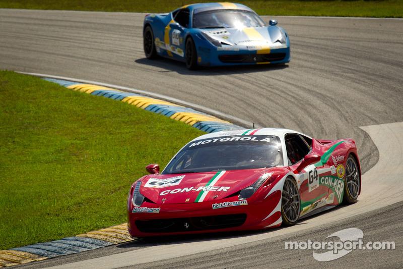 #64 Ferrari of Ft Lauderdale 458CS: Frank Fusillo