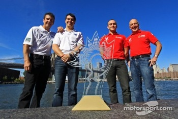 GT champions Emil Assentato and Jeff Segal and DP champions Scott Pruett and Memo Rojas