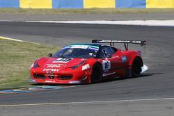 #16 Sofrev ASP Ferrari 458 Italia: Fabien Barthez; Morgan Moulin-Traffort
