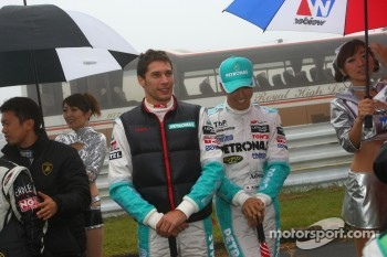 Kazuki Nakajima, Loic Duval