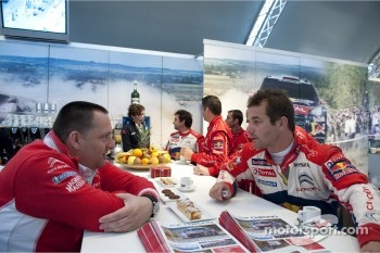 Yves Matton and Sébastien Loeb, Citroën Total World Rally Team