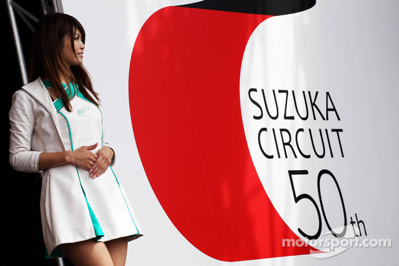 Suzuka celebrates its 50th Anniversary in the fans' merchandise area