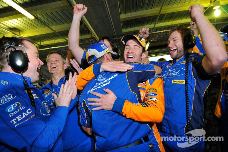 Will Davison, Trading Post FPR Ford celebrates pole