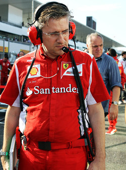 Pat Fry, Ferrari Deputy Technical Director and Head of Race Engineering on the grid