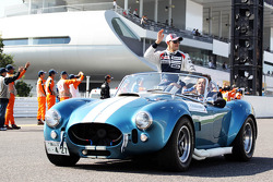 Pastor Maldonado, Williams on the drivers parade