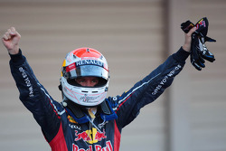 First place for Sebastian Vettel, Red Bull Racing