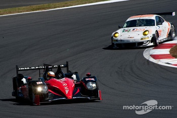 #22 JRM HPD ARX 03a Honda: David Brabham, Karun Chandhok, Peter Dumbreck