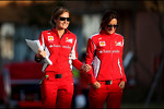 Scuderia Ferrari press officers