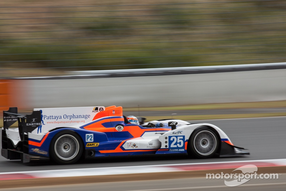 #25 ADR-Delta Oreca 03 Nissan: John Martin, Tor Graves