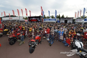 Ducati display area