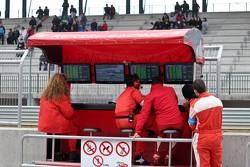 Kessel Racing pit gantry