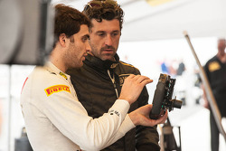 Patrick Dempsey and Jérôme d'Ambrosio