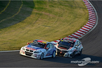 Franz Engstler, BMW 320 TC,  Liqui Moly Team Engstler and Tiago Monteiro, Honda Civic Super