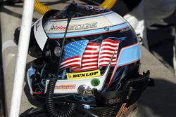 Jonathan Summers' helmet