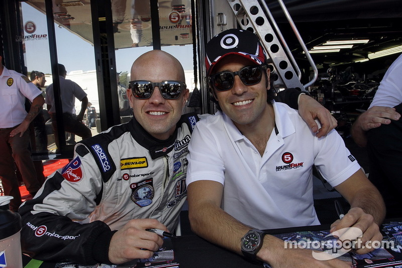 Marino and Dario Franchitti