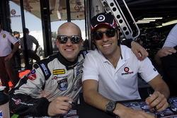 Marino and Dario Franchitti