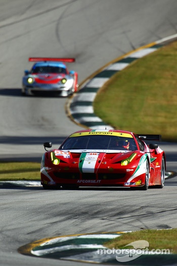 #60 AF Corse Ferrari F458 Italia: Piergiuseppe Perazzini, Marco Cioci, Matt Griffin