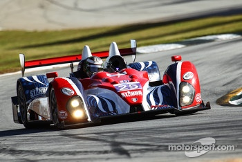 #25 Dempsey Racing Oreca FLM09: Henri Richard, Duncan Ende, Ryan Lewis
