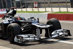Pastor Maldonado, Williams front wing
