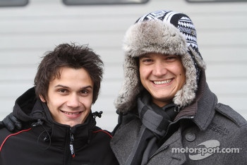 Mario Farnbacher and Dominik Farnbacher