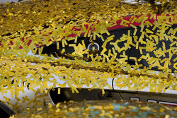 Confetti everywhere