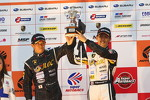 GT300 podium: second place Kouji Yamanishi, Hideki Yamauchi
