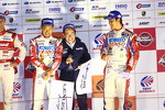GT500 championship podium