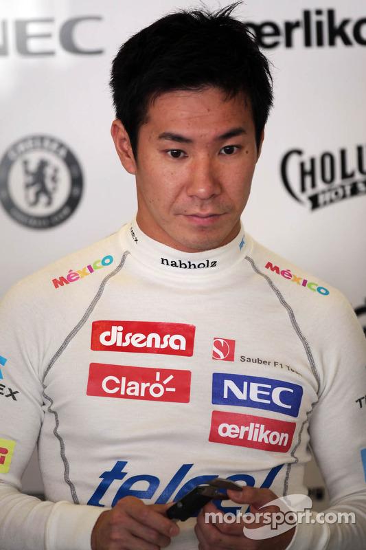 Kamui Kobayashi, Sauber