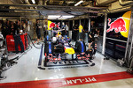 Sebastian Vettel, Red Bull Racing in the pits