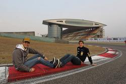 Fernando Monje, SEAT LeÛn WTCC, SUNRED Engineering and Pepe Oriola, SEAT LeÛn WTCC, Tuenti Racing Team