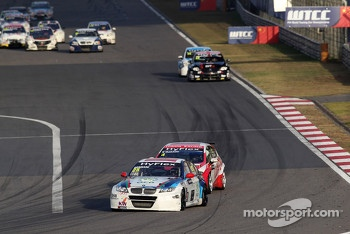 Mehdi Bennani, BMW 320 TC, Proteam Racing and Alexey Dudukalo, SEAT Leon WTCC, Lukoil Racing Team