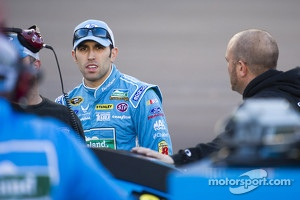 Aric Almirola, driver of the No. 43 Farmland Ford Fusion