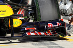 flow-vis paint on the Red Bull Racing