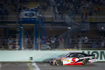 Regan Smith, JR Motorsports Chevrolet takes the checkered flag to win the race