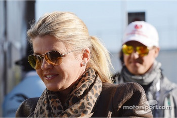 Corinna Schumacher, and Michael Schumacher, Mercedes AMG F1