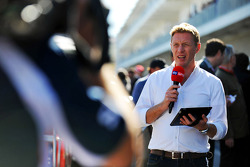 Simon Lazenby, Sky Sports F1 TV Presenter