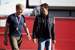 Gordon Ramsey, Celebrity Chef with Mark Webber, Red Bull Racing