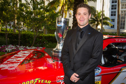 NASCAR Nationwide Series champion driver Ricky Stenhouse Jr., Roush-Fenway Ford