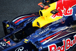 Red Bull Racing RB8 cockpit