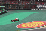 Fernando Alonso, Ferrari runs wide